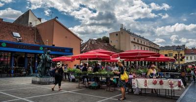 Dolac Market - Marktstände
