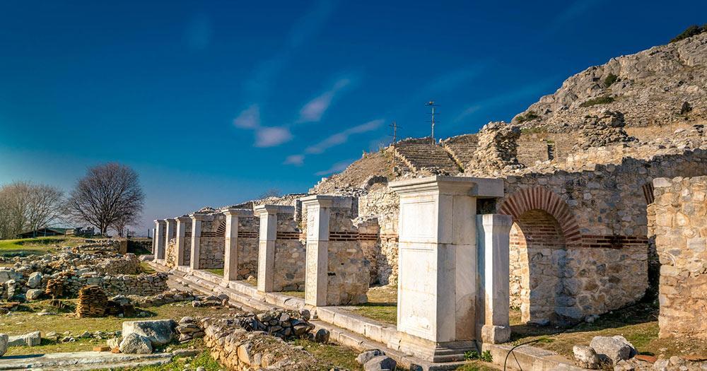 Kavala - Ruinen von Philippi