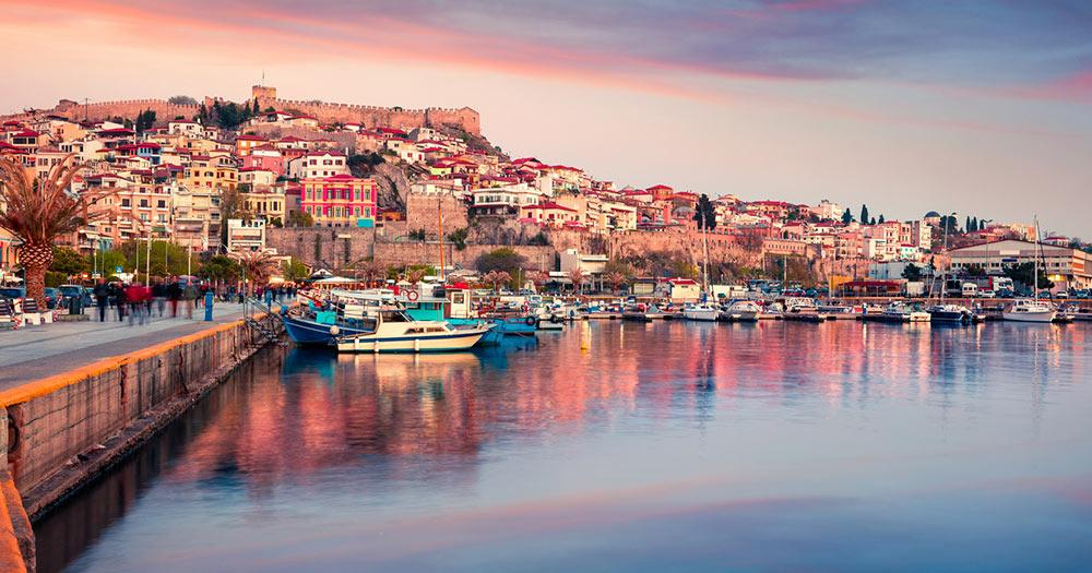Kavala - Hafen