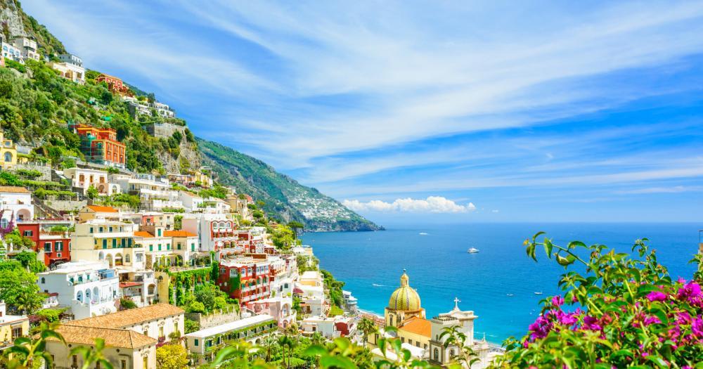 Neapel - Blick auf die Landschaft