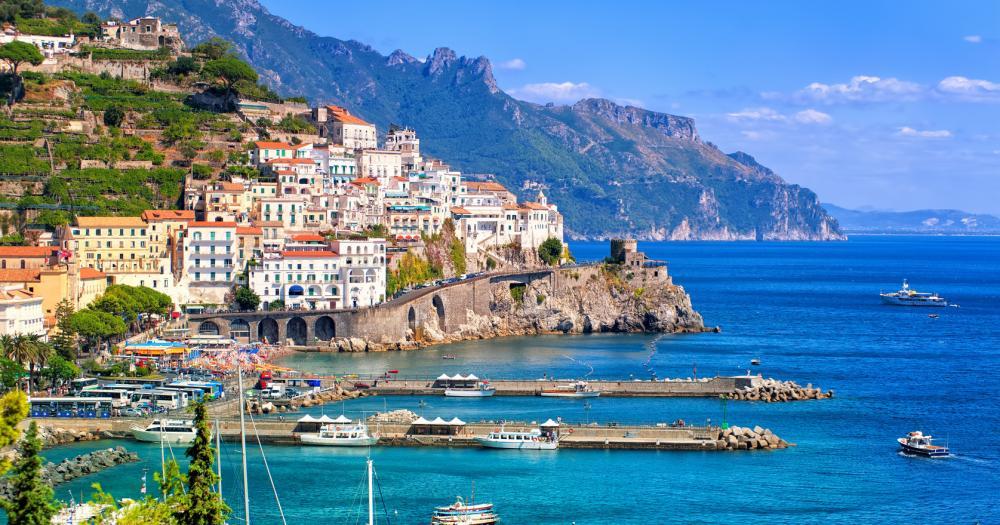Neapel - Blick auf das Meer