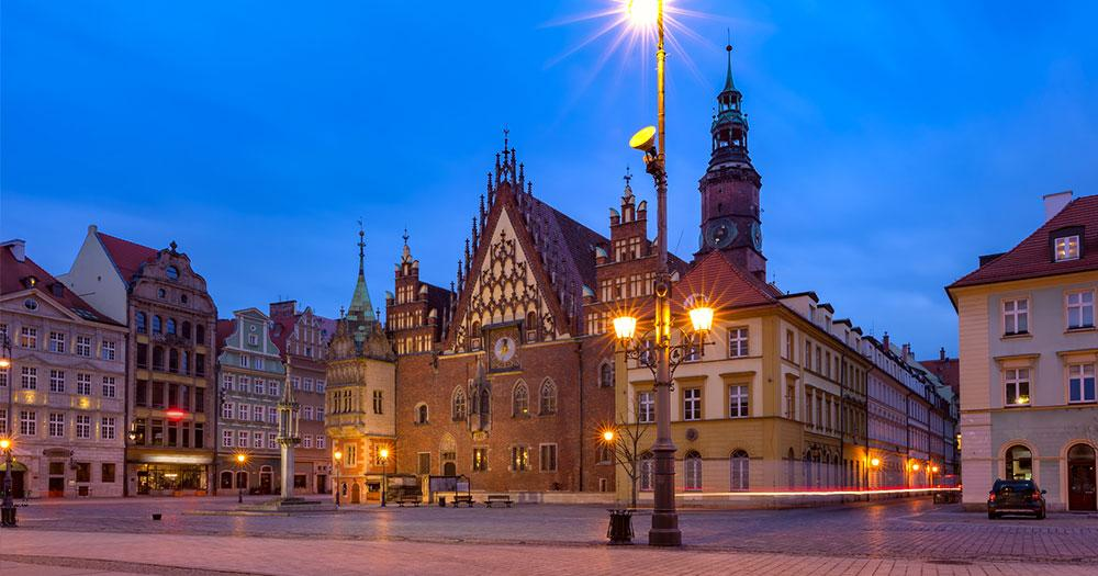 Breslau - Rathaus