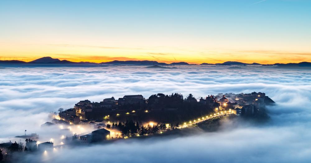 Palermo - Blick auf die Landschaft