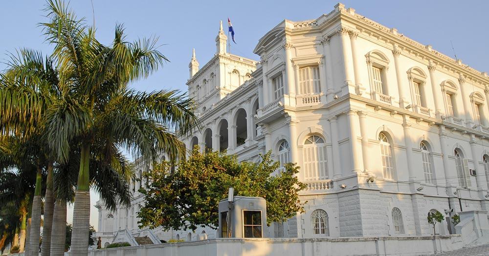 Asunción - Palacio de Lopez