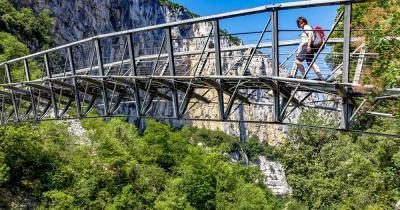 Verdonschlucht - Stahlbrücke