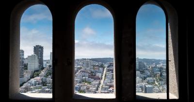 Coit Tower - Blick vom Turm