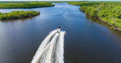 Everglades - Motorbootfahrt