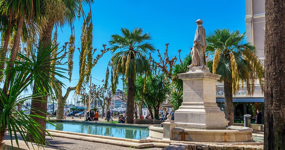 Cannes -  Promenade de la Croisette