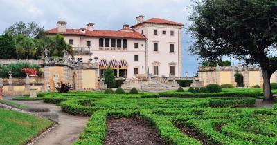 Villa Vizcaya - Garten
