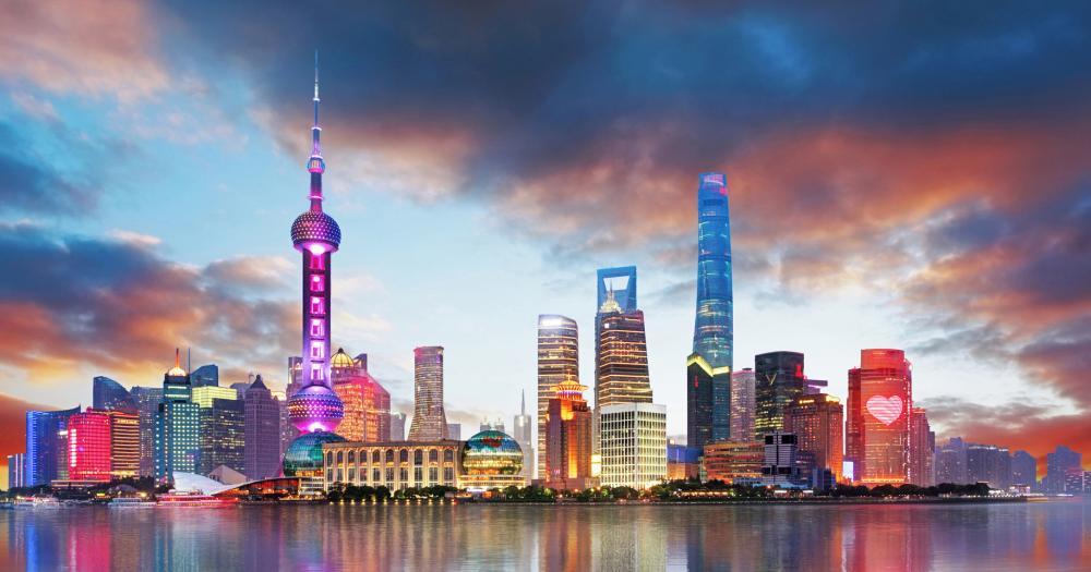 Shanghai - Blick auf die Skyline
