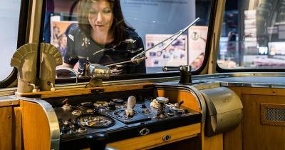 Deutsche Bahn Museum - Bus Cockpit