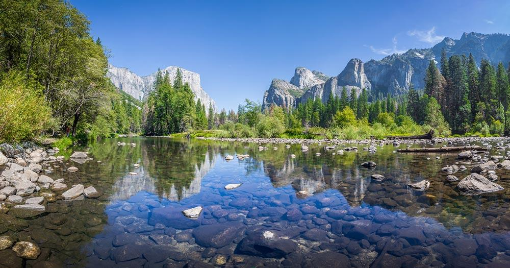 Yosemite-Nationalpark - Merced River