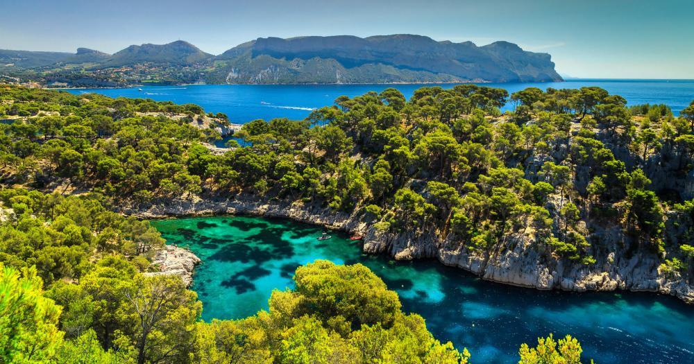 Marseille - Blick auf die Landschaft