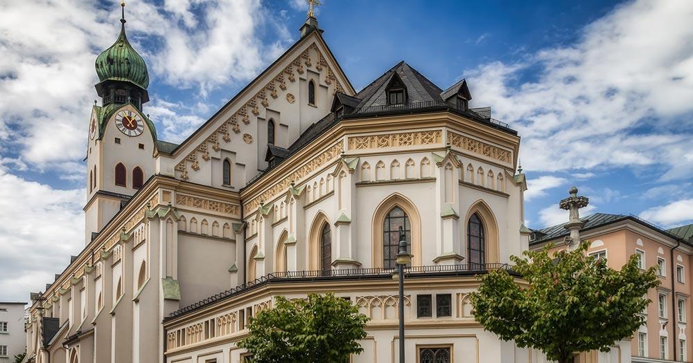 Rosenheim - Kirche St. Nikolaus