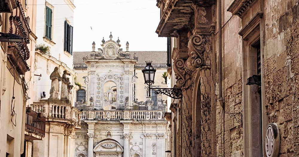 Lecce - Altstadt