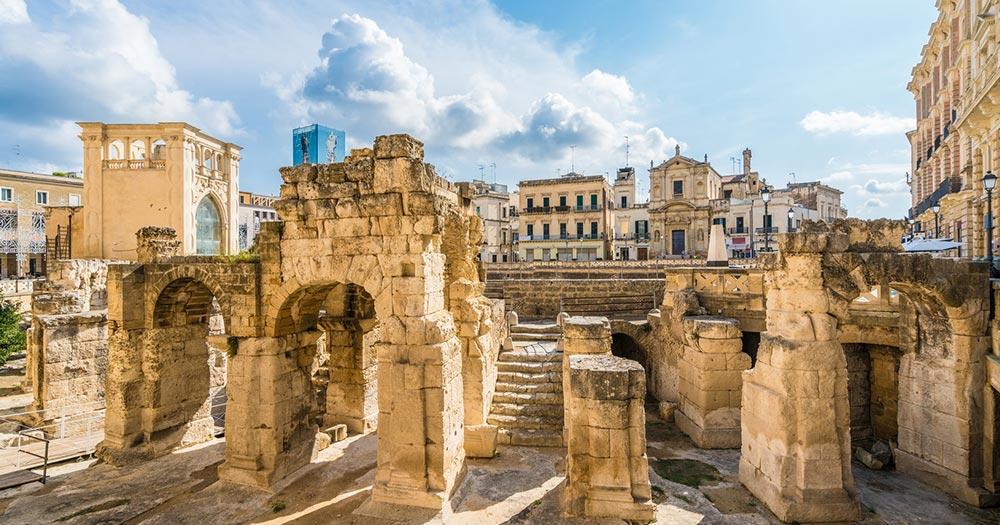 Lecce - römische Ausgrabungen