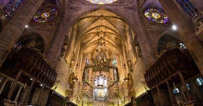 Kathedrale von Palma - Innenansicht