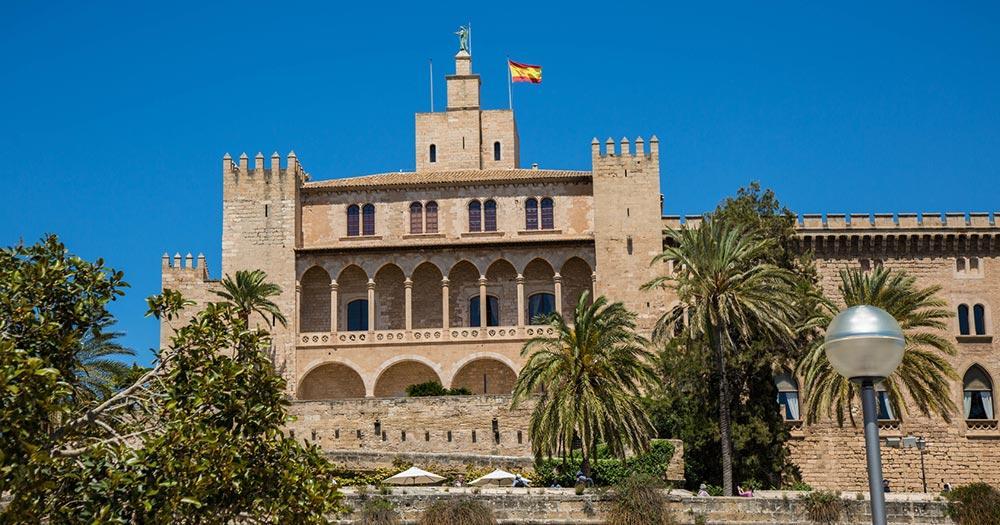 Königspalast La Almudaina - Blick auf die Türme