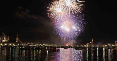 Festa del Redentore - Das Feuerwerk der Festa del Redentore in Venedig