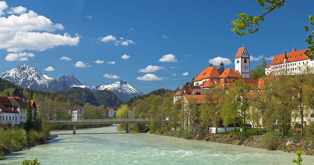 Füssen - Kloster St. Mang