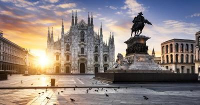 Mailand - Blick auf den Dom