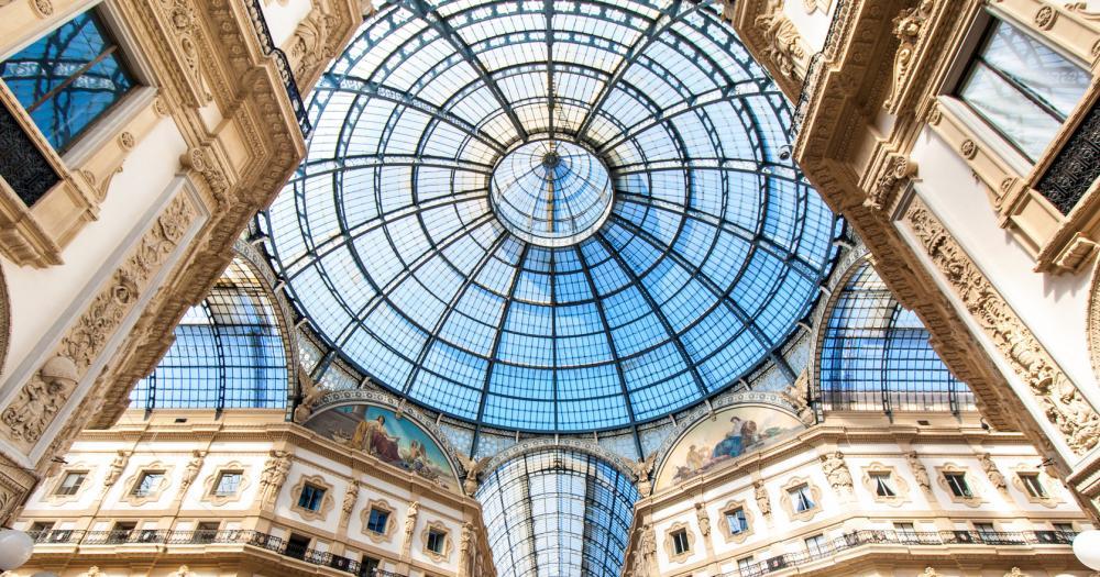 Mailand - Blick Galleria Vittorio Emanuele