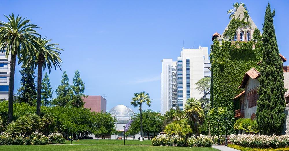 San Jose - überwachsene Gebäude