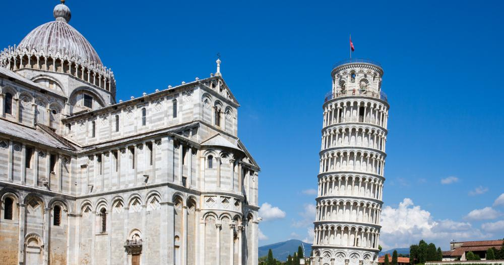 Pisa - Blick auf den Turm