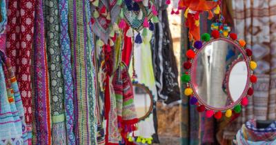 Punta Arabi - Hippiemarkt - Tücher