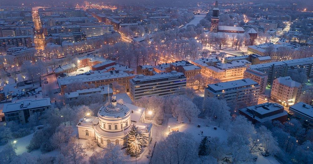 Turku - Luftaufnahme