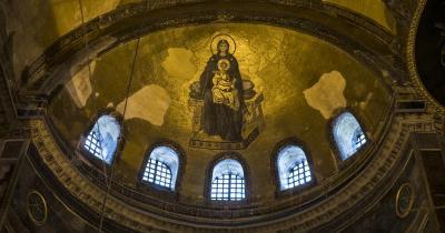 Hagia Sophia - Deckenfresko
