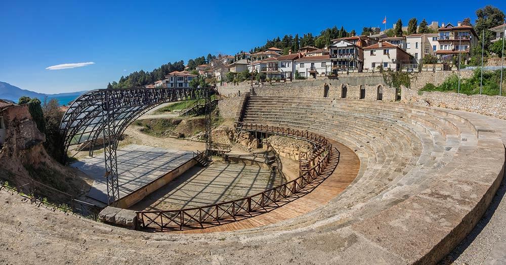 Ohrid - Amphitheater
