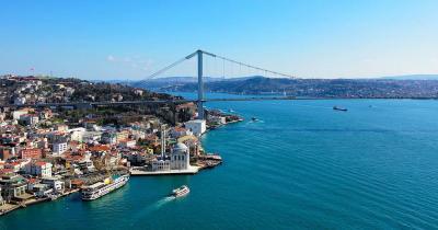Bosporus - Blick auf die Brücke