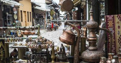 Großer Basar Istanbul - Kupferstand