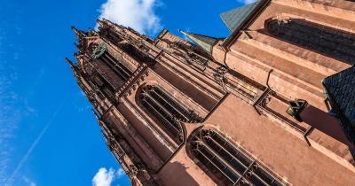 Kaiserdom St. Bartholomäus - Blick von unten
