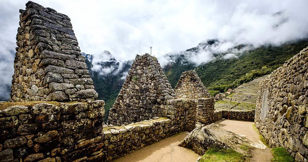 Machu Picchu - Steinmauern