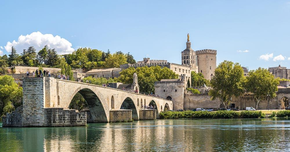 Provence - Saint Benezet bridge