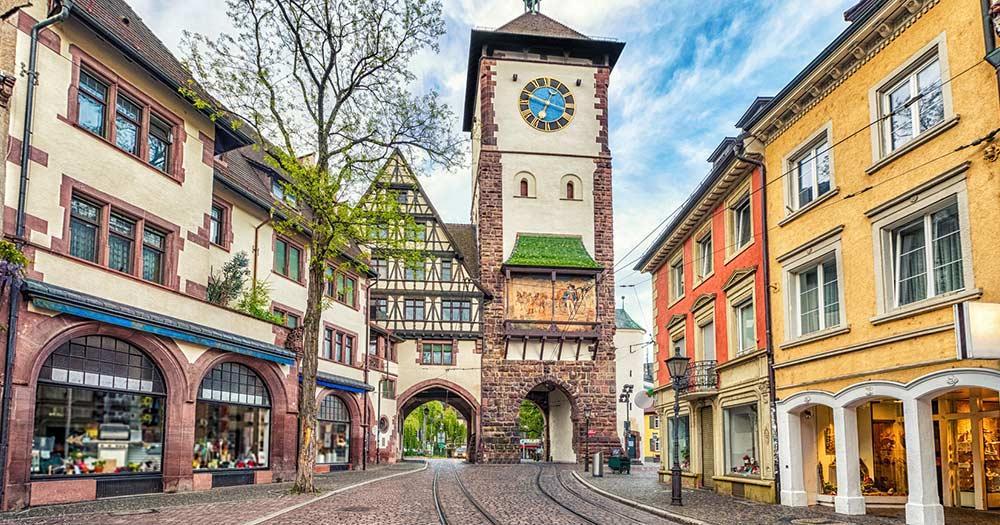 Freiburg im Breisgau bei Reise und Urlaubsziele