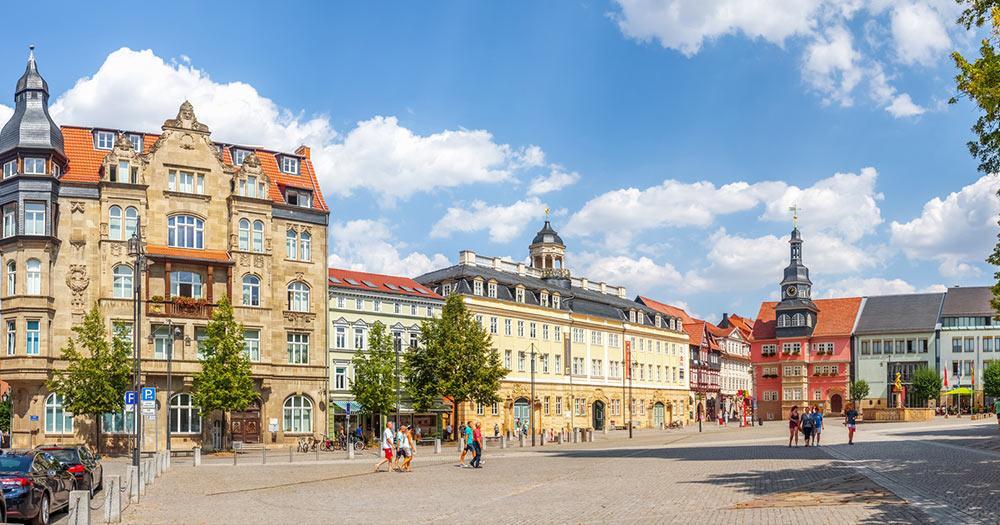 Eisenach / Marktplatz