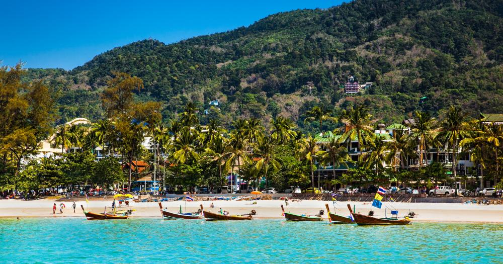 Ko Phuket - Blick auf den Patong Beach