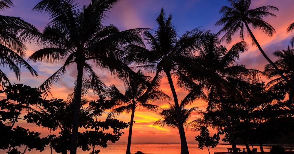 Ko Phuket - Sonnenuntergang am Strand