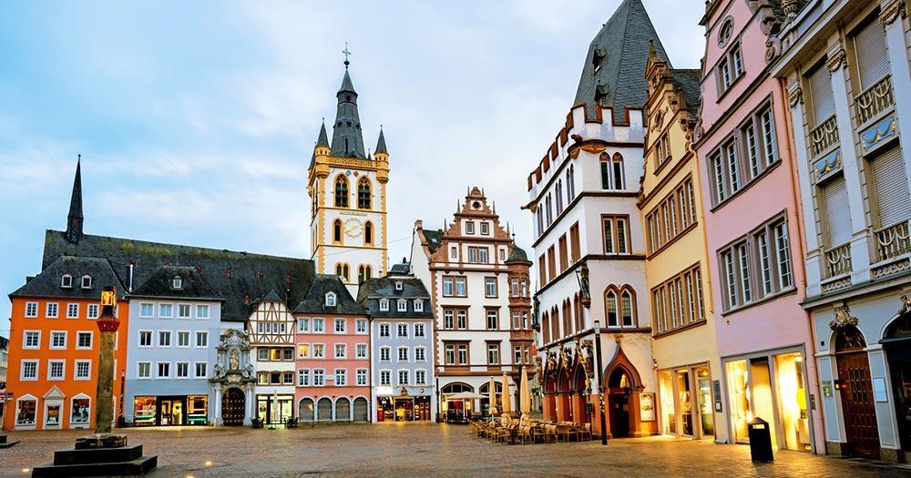 Trier / Hauptmarkt von Trier