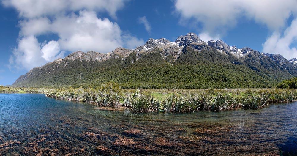Fiordland-Nationalpark / Milford Sound.