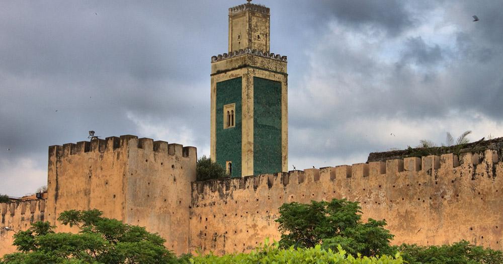Meknès / der Mosque Minaret