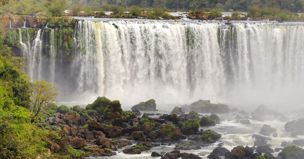 Iguazú-Wasserfälle / Foz do Iguacu