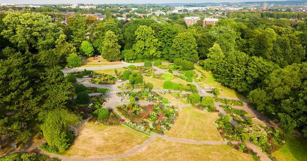 Dortmund / Westfalenpark in Dortmund