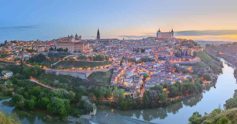 Madrid - Blick über den Fluss