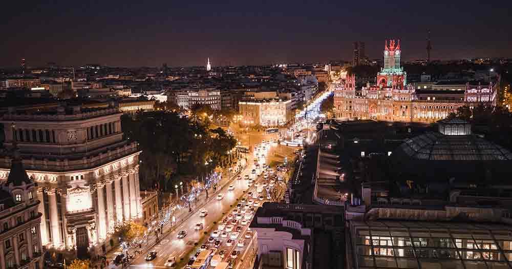 Madrid - Bei Nacht
