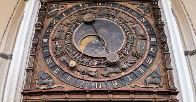 Marienkirche Rostock / Astronomische Uhr