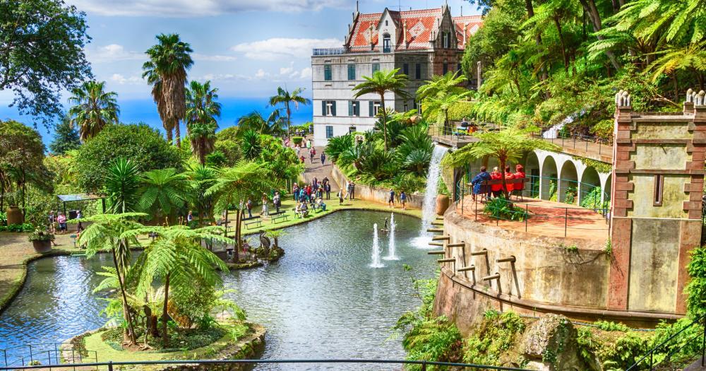 Madeira - Monte Palace Tropical Garden in Funchal